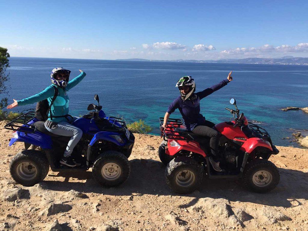 Funny-quad-tour-on-Mallorca