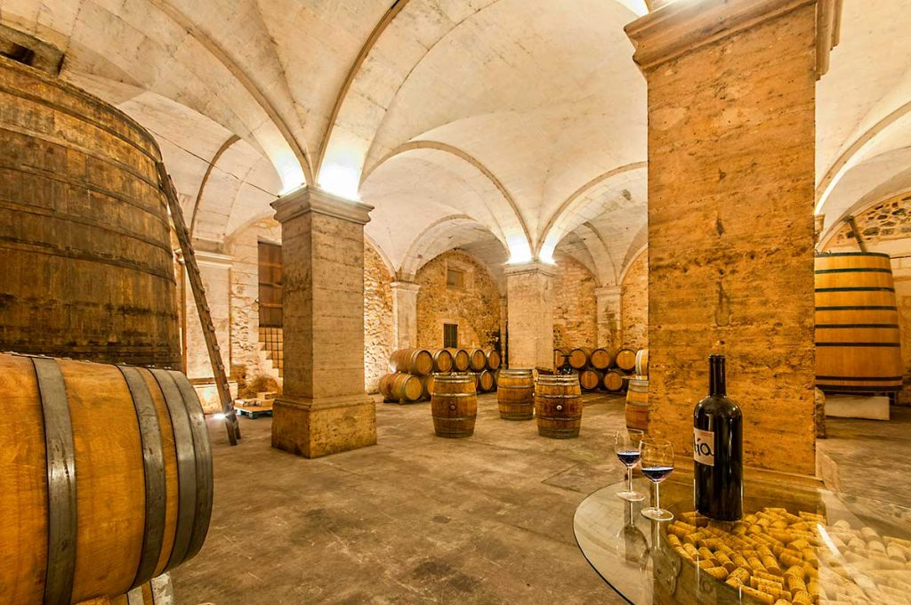 Historical-wine-cellar-of-a-family-winery-in-Mallorca