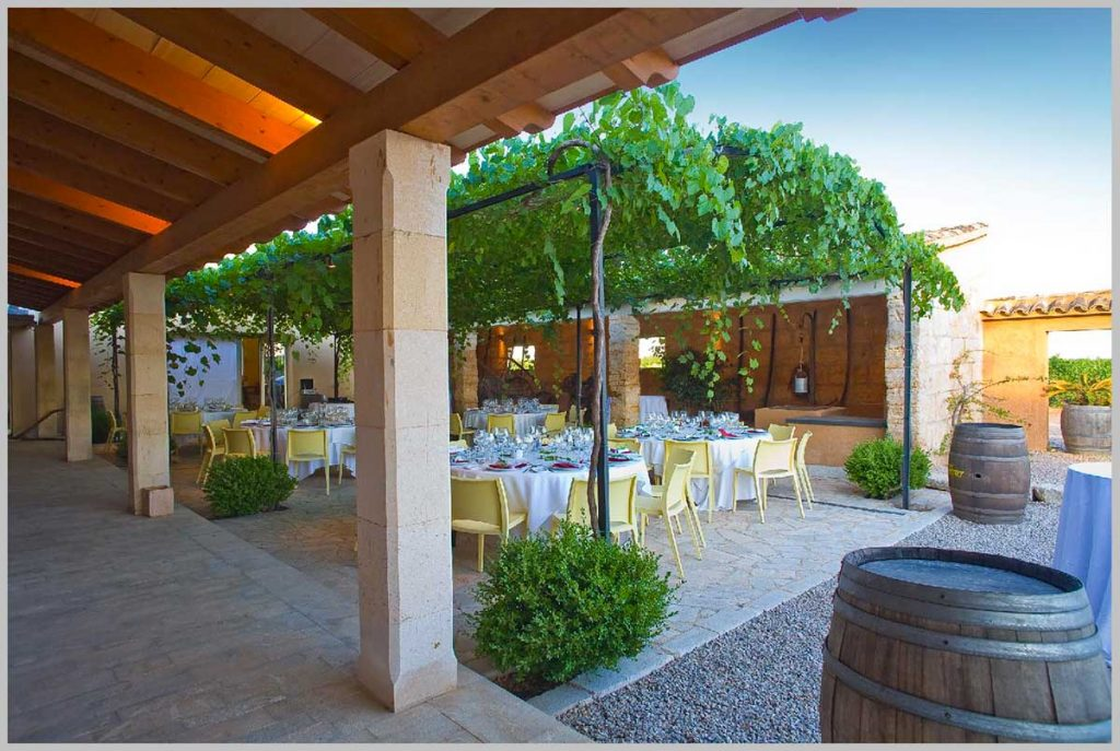 Private-dinner-with-winetasting-on-a-Majorcan-winery